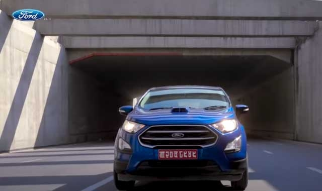 Ford Ecosport, the most powerful compact SUV